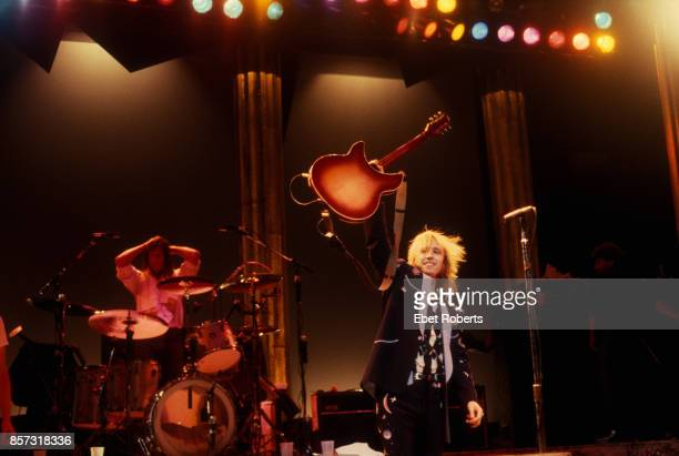 Tom Petty and The Heartbreakers performing at Poplar Creek Music Theater Hoffman Estates IL on June 22 1985