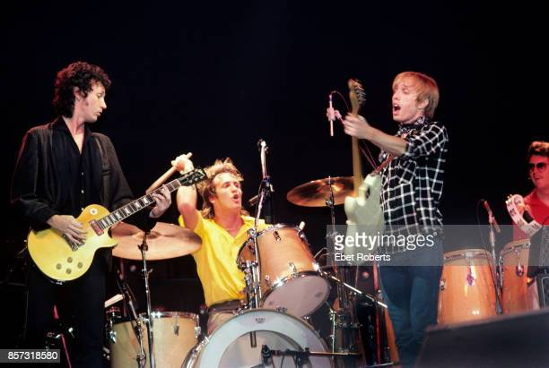 Tom Petty and The Heartbreakers performing at the Brendan Byrne Arena in East Rutherford New Jersey on July 30 1981