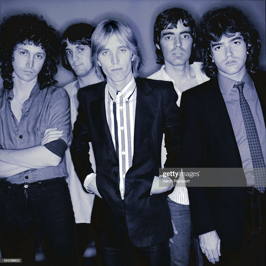 Tom Petty and the Heartbreakers shot in Hollywood, California, during the Damn the Torpedoes tour.