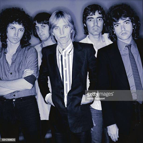 Tom Petty and the Heartbreakers shot in Hollywood California during the Damn the Torpedoes tour