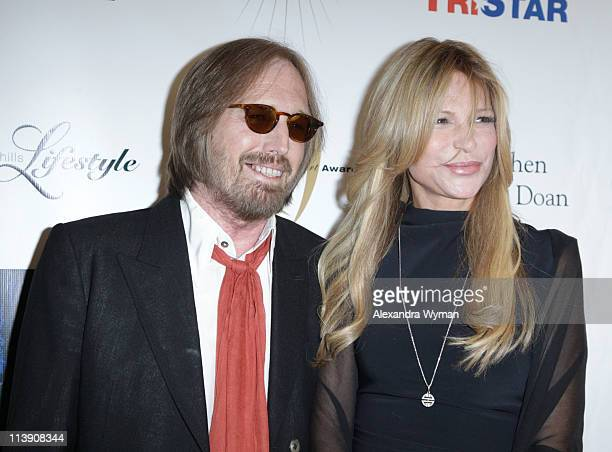 Tom Petty and wife Dana Petty at The 11th Annual Golden Heart Awards held at The Beverly Hilton hotel on May 9 2011 in Beverly Hills California