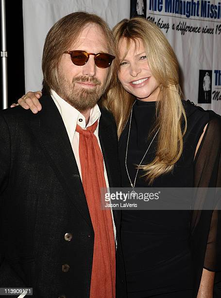 Tom Petty and wife Dana Petty attend the 11th annual Golden Heart Awards at The Beverly Hilton hotel on May 9 2011 in Beverly Hills California