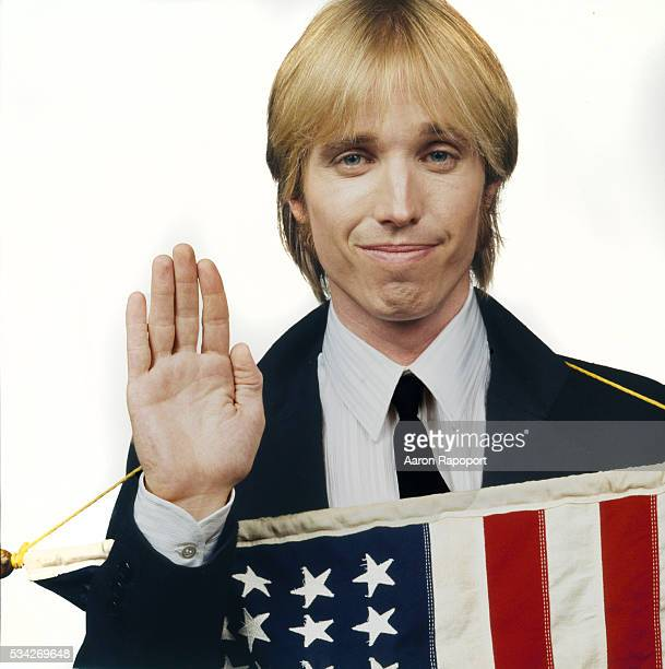 Tom Petty around the time of his Hard Promises album shot in Los Angeles California for Rolling Stone Magazine