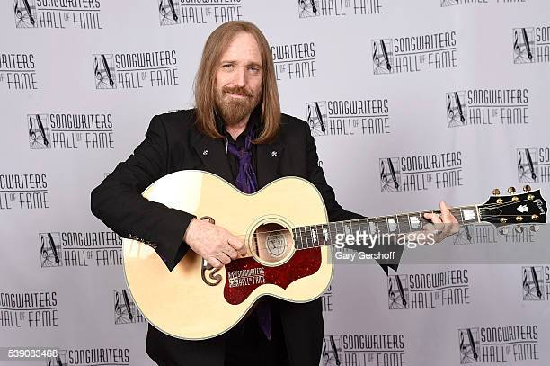 Tom Petty attends Songwriters Hall Of Fame 47th Annual Induction And Awards at Marriott Marquis Hotel on June 9 2016 in New York City