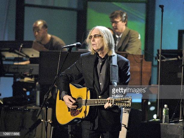 Tom Petty during The 19th Annual Rock and Roll Hall of Fame Induction Ceremony - Rehearsal at Waldorf Astoria in New York City, New York, United...