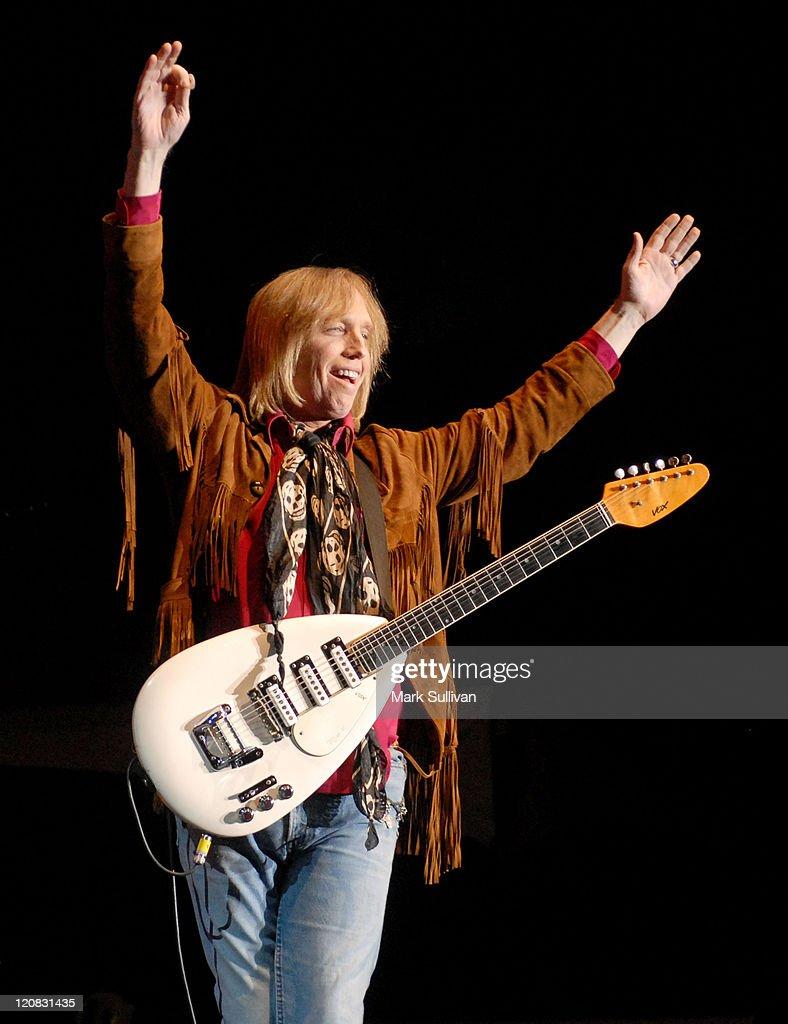 Tom Petty during Vegoose Music Festival 2006 - Tom Petty at Sam Boyd Stadium in Las Vegas, Nevada, United States.