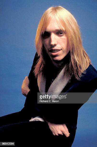 Tom Petty from Tom Petty and the Heartbreakers posed in New York in 1976