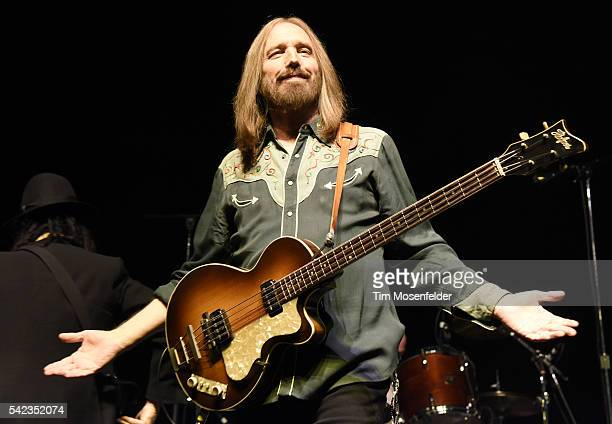Tom Petty of Mudcrutch performs at the Fox Theater on June 22 2016 in Oakland California