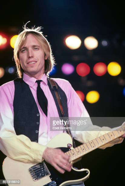 Tom Petty performing with The Heartbreakers at the Nassau Coliseum in Uniondale Long Island New York on March 31 1983