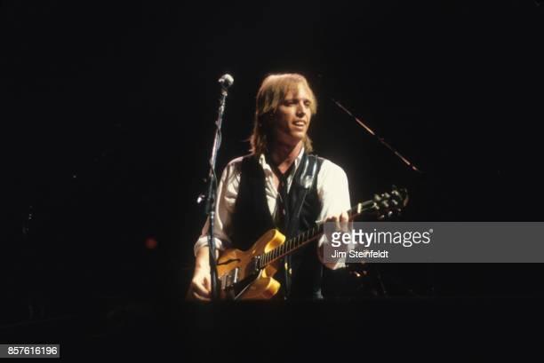 Tom Petty performs at the Hubert H Humphrey Metrodome in Minneapolis Minnesota on June 26 1986