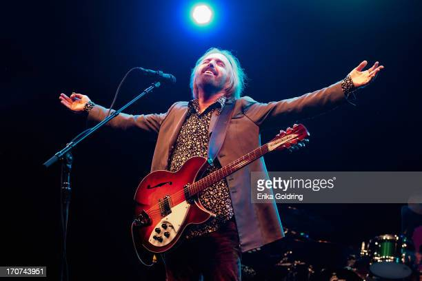 Tom Petty performs during the 2013 Bonnaroo Music Arts Festival on June 16 2013 in Manchester Tennessee
