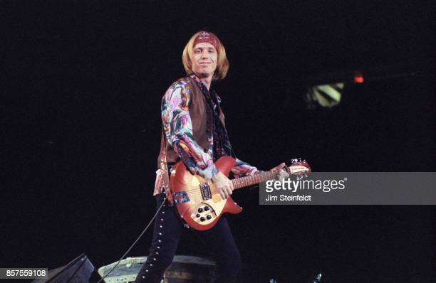 Tom Petty performs on the Touring The Great Wide Open Tour at the Met Center in Bloomington Minnesota on September 4 1991