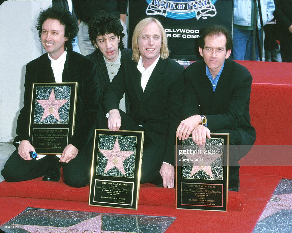 Tom Petty & The Heartbreakers Honored with a Star on the Hollywood Walk of Fame