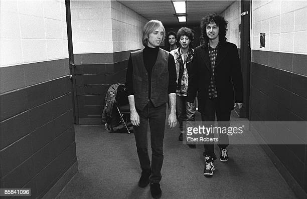 Photo of Tom PETTY Tom Petty and The Heartbreakers backstage at Nassau