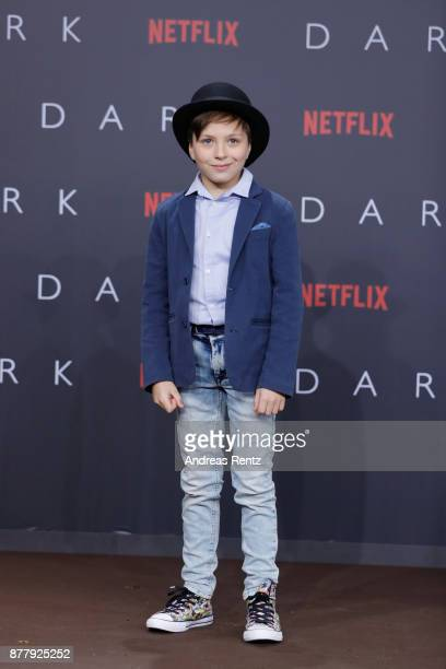 Tom Philipp Kloth attends the premiere of the first German Netflix series 'Dark' at Zoo Palast on November 20 2017 in Berlin Germany