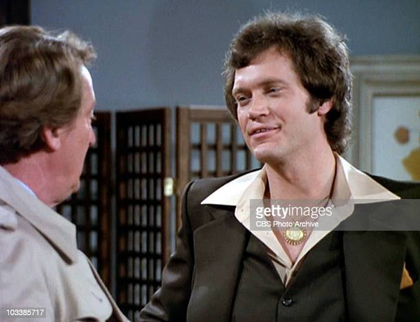 MINDY Tom Poston as Franklin Delano Bickley and David Letterman as Ellsworth in Mork goes Erk Original airdate February 8 1979 Image is a screen grab