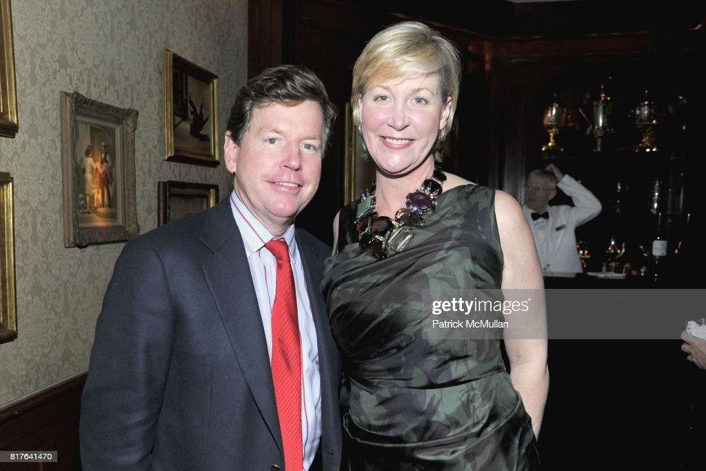 Tom Quick and Sara Dodd-Spickelmier attend ANNE HEARST MCINERNEY, JAY MCINERNEY and GEORGE FARIAS Holiday Party at 21 Club on December 16, 2010 in New York City.