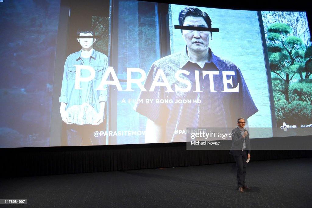 "Los Angeles Premiere of ""Parasite"" : Nieuwsfoto's"