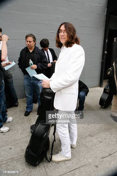 Tom Raider attends the auditions for 'RAIN A Tribute to the Beatles on Broadway' at SIR Studios on May 11 2011 in New York City