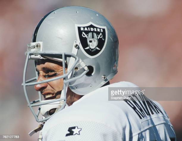 Tom RathmanRunning Back for the Los Angeles Raiders during the National Football Conference West game against the Los Angeles Rams on 13 November...