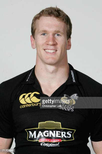 Tom Rees of London Wasps poses for a portrait during the London Wasps pre season photo call for he 20067 Guinness Premiership season at the London...