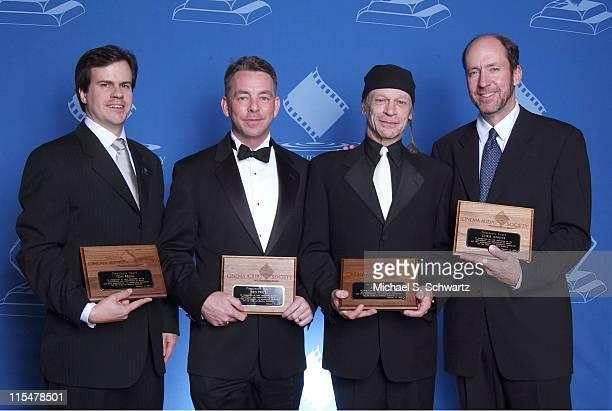 Tom Regal, Ned Price, Leon Vitali and Chris Jenkins, President's Award winners