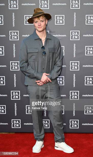 Tom Rhys Harries attends the Dazn x Matchroom VIP Launch Event at Kings Cross on July 27, 2021 in London, England.