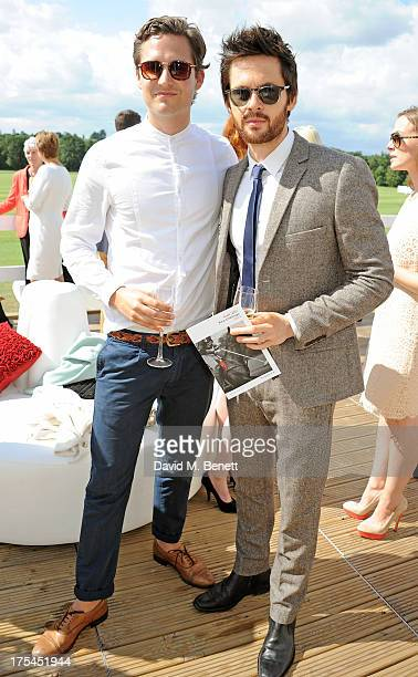 Tom Riley attends day 1 of the Audi Polo Challenge at Coworth Park Polo Club on August 3 2013 in Ascot England
