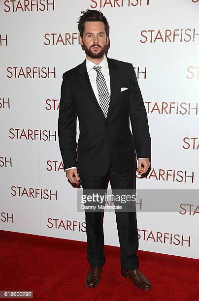 Tom Riley attends the UK film premiere of Starfish at The Curzon Mayfair on October 27 2016 in London England