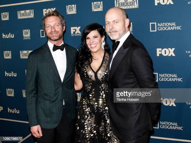 Tom Rob Smith Alexis Martin Woodall and Daniel Minahan attend the FOX FX and Hulu 2019 Golden Globe Awards after party at The Beverly Hilton Hotel on...