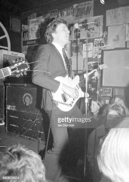 Tom Robinson Band performing on stage at The Brecknock London 1977