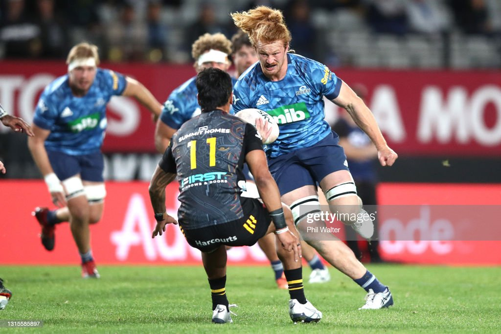 Super Rugby Aotearoa Rd 10 - Blues v Chiefs : Photo d'actualité