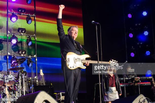 Tom Robinson performs at Rewind Festival on August 19 2017 in HenleyonThames England