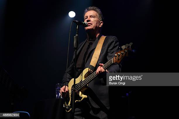 Tom Robinson performs live on stage at Queen Elizabeth Hall on September 18 2015 in London England