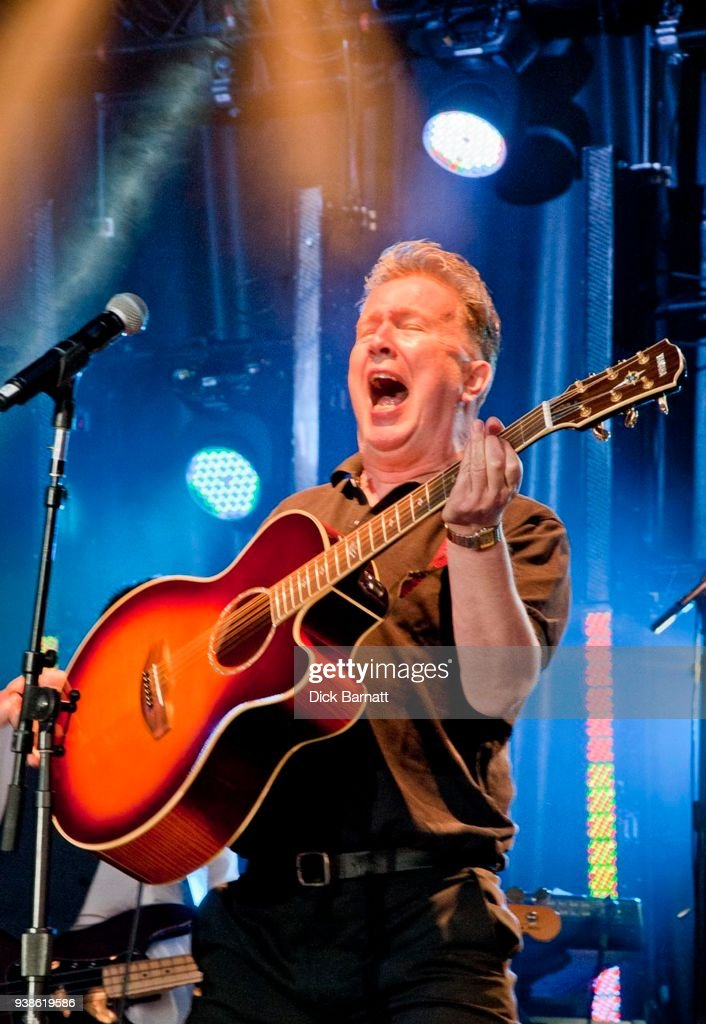 Tom Robinson performs on stage, United Kingdom, 26th May 2012.
