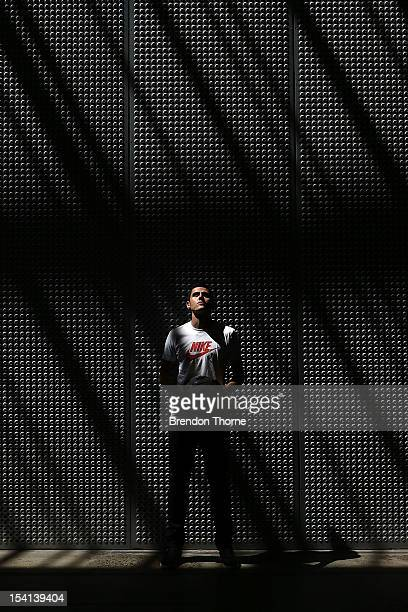 Tom Rogic of Australia and the Central Coast Mariners poses during a Nike and FFA media announcement at Carriageworks on October 15 2012 in Sydney...