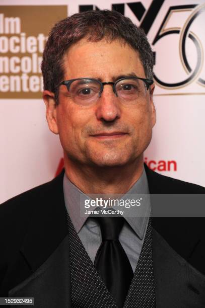 Tom Rothman attends the Opening Night Gala Presentation Of 'Life Of Pi' at the 50th New York Film Festival at Alice Tully Hall on September 28 2012...