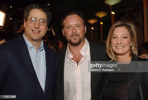 Tom Rothman Chairman Fox Filmed Entertainment Tim McGraw and Elizabeth Gabler President Fox 2000