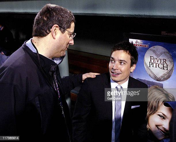 Tom Rothman chairman of 20th Century Fox and Jimmy Fallon