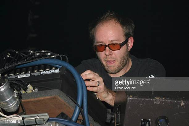 Tom Rowlands of the Chemical Brothers during The Chemical Brothers in Concert at Brixton Academy in London December 9 2005 at Brixton Academy in...
