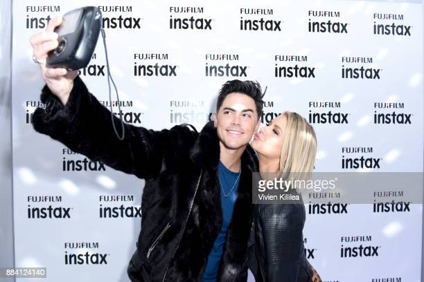 Tom Sandoval and Ariana Madix attend the 1027 KIIS FM Artist Gift Lounge at 1027 KIIS FM's Jingle Ball 2017 presented by Capital One at The Forum on...