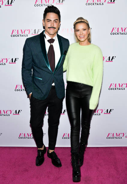 "CA: Official Launch Event For ""Fancy AF Cocktails"" By Ariana Madix, Tom Sandoval And Danny Pellegrino"