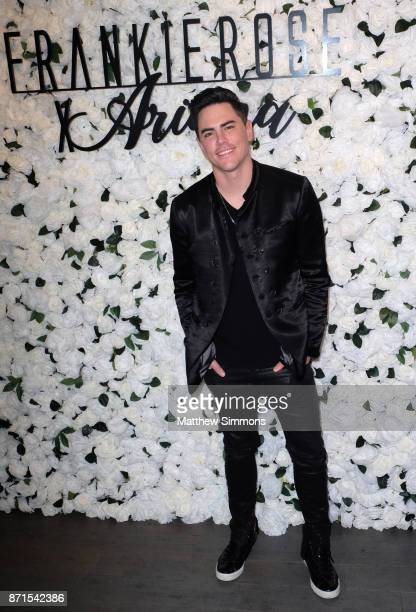 Tom Sandoval at Ariana Madix Frankie Rose Cosmetics holiday launch at COD Restaurant on November 7 2017 in Los Angeles California