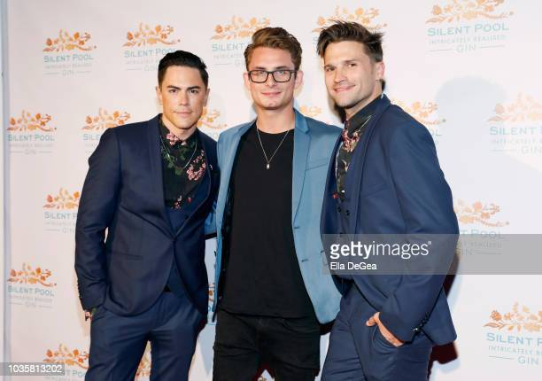 Tom Sandoval James Kennedy and Tom Schwartz attend the Silent Pool Gin Launch Party at Tom Tom on September 18 2018 in West Hollywood California