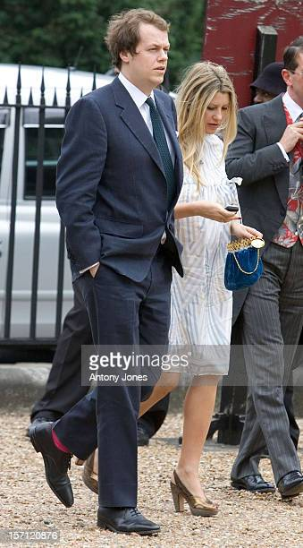 Tom Sara Parker Bowles Attend The Wedding Of Tom Aikens Amber Nuttall At The Royal Hospital Chelsea In London