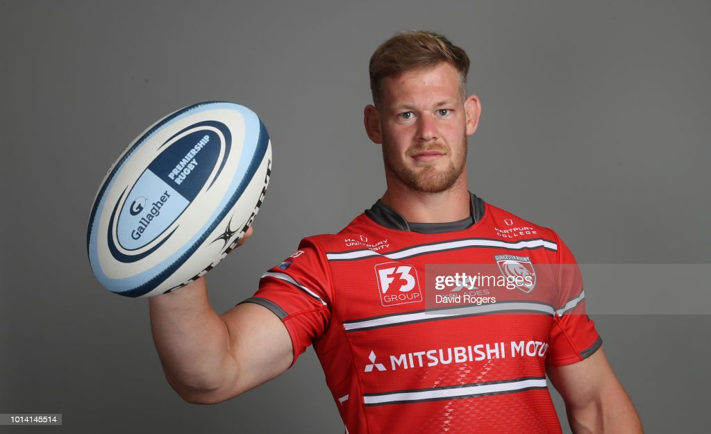 Gloucester Rugby Squad Photo Call : News Photo