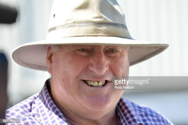 Tom Scanlon after winning the Ron Hutchinson Turns 90 Hcp at Mornington Racecourse on December 13 2017 in Mornington Australia