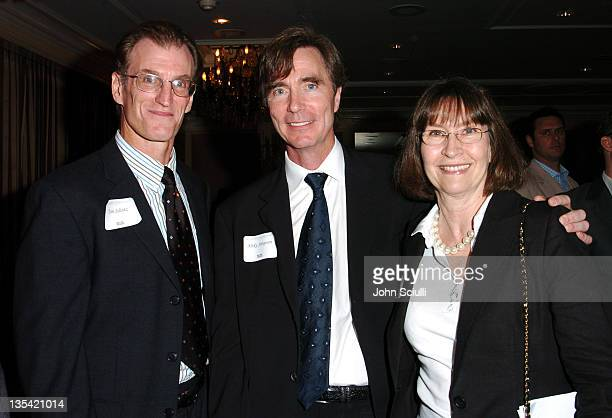 Tom Schatz Mike Simpson and Carolyn Pfeiffer CEO Burnt Orange Productions