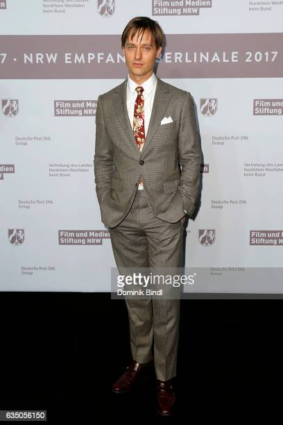 Tom Schilling attends the NRW Reception at the Landesvertretung during the 67th Berlinale International Film Festival on February 12 2017 in Berlin...