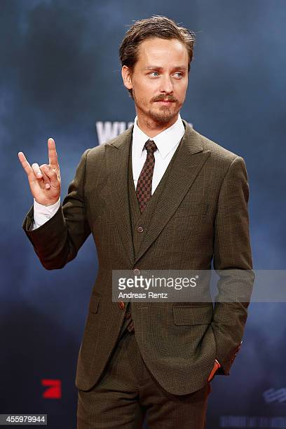 Tom Schilling attends the premiere of the film 'Who am I' at Zoo Palast on September 23 2014 in Berlin Germany
